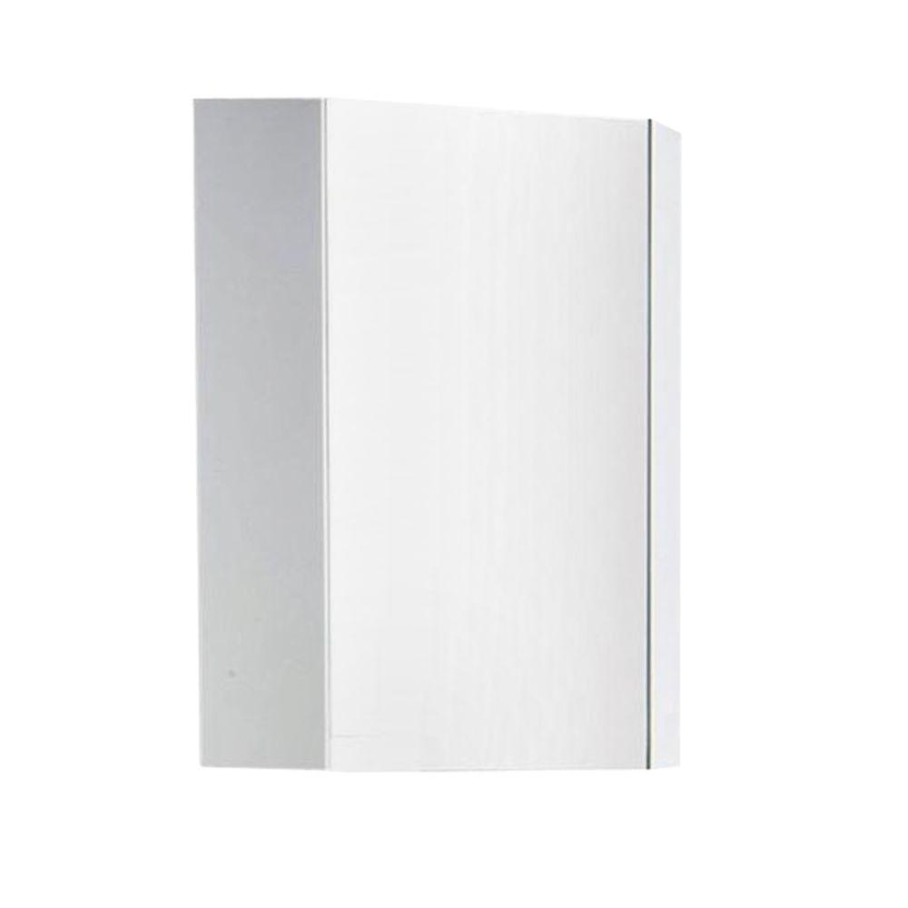 Fresca Coda 14 In X 24 In Surface Mount Medicine Cabinet