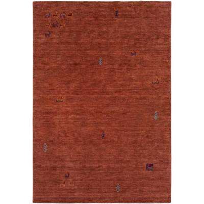 Aubrey Rust 8 ft. x 10 ft. Area Rug