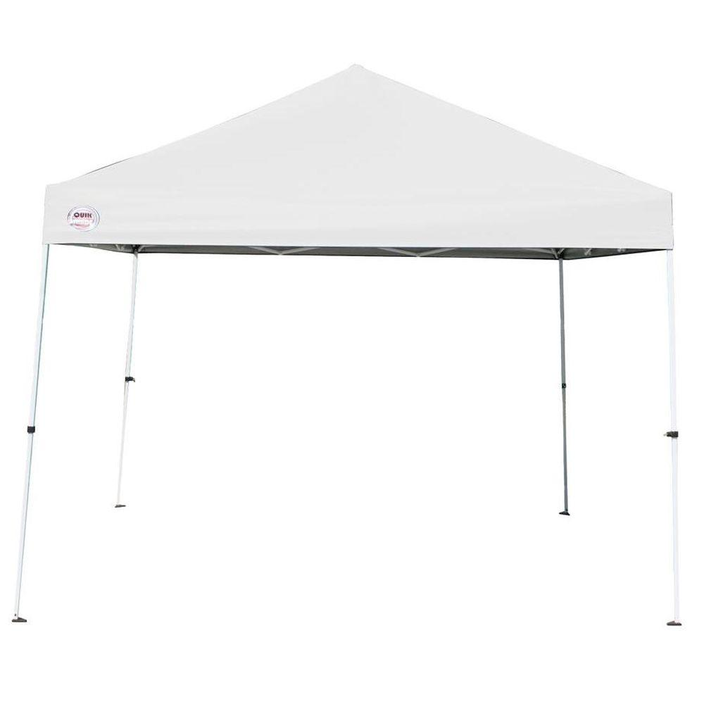 Quik Shade Weekender 10 ft. x 10 ft. White Instant Patio Canopy-DISCONTINUED