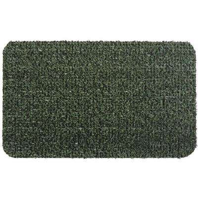 Flair Evergreen 18 in. x 30 in. Door Mat
