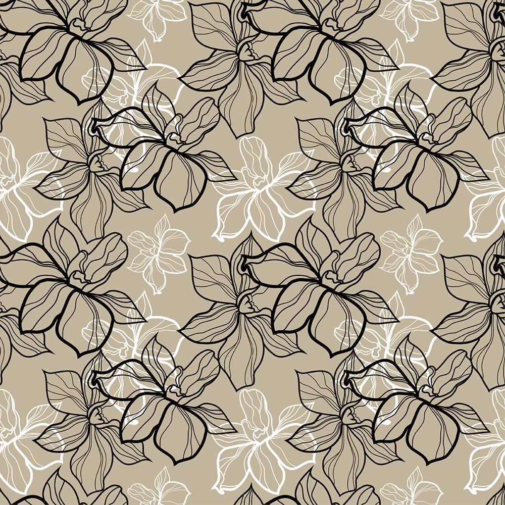 Floral Pattern Peel and Stick Foam Tile Wall  sc 1 st  Home Depot & Brewster 18.2 in. x 36.4 in. Floral Pattern Peel and Stick Foam Tile ...