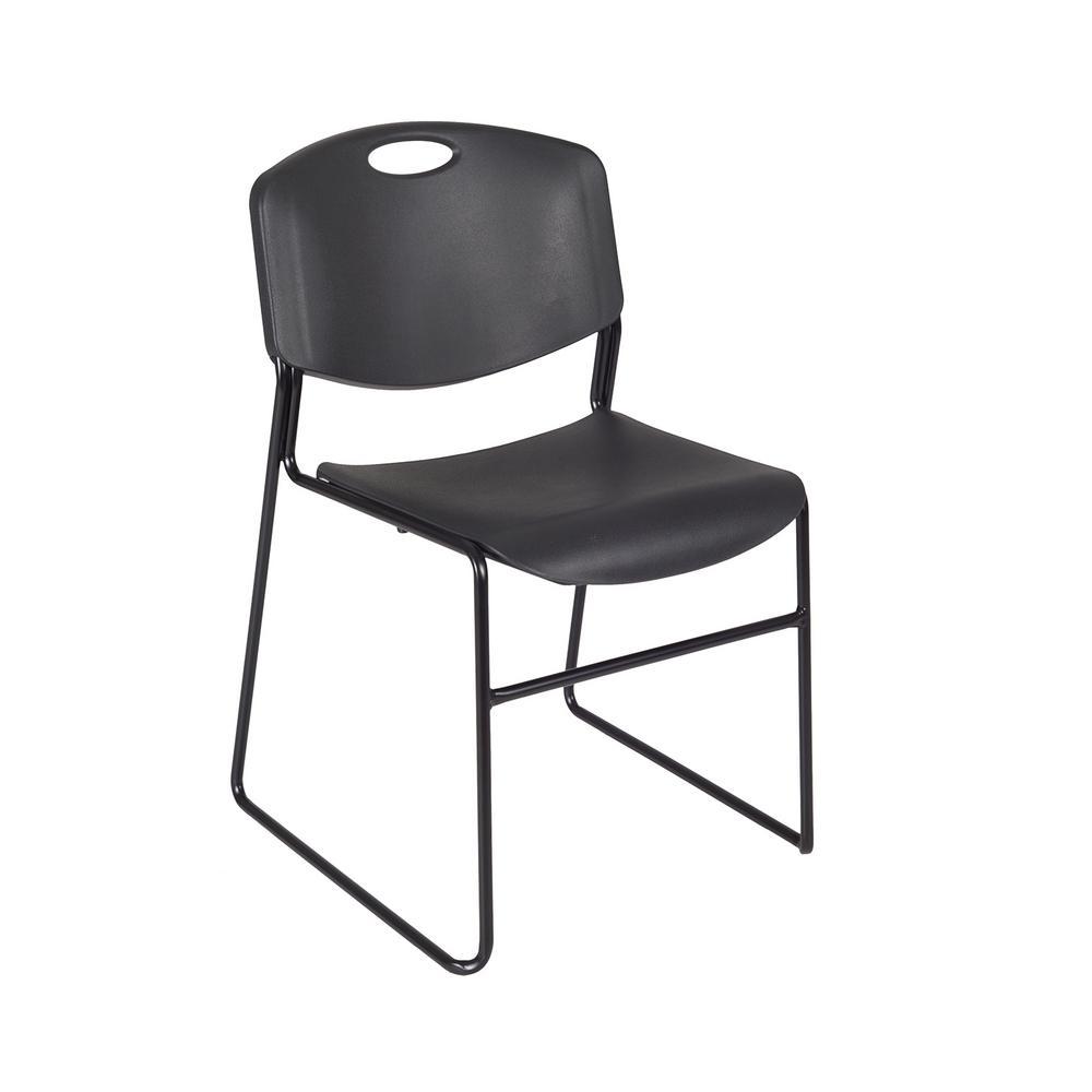 Regency Zeng Black Stack Chair
