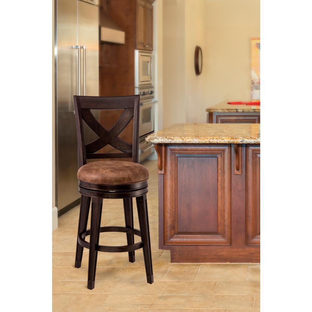 Hillsdale Furniture Santa Fe 30 In Distressed Espresso