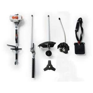 2-Cycle 26cc Gas Full Crank Shaft 4-in-1 Multi-Function String Trimmer by