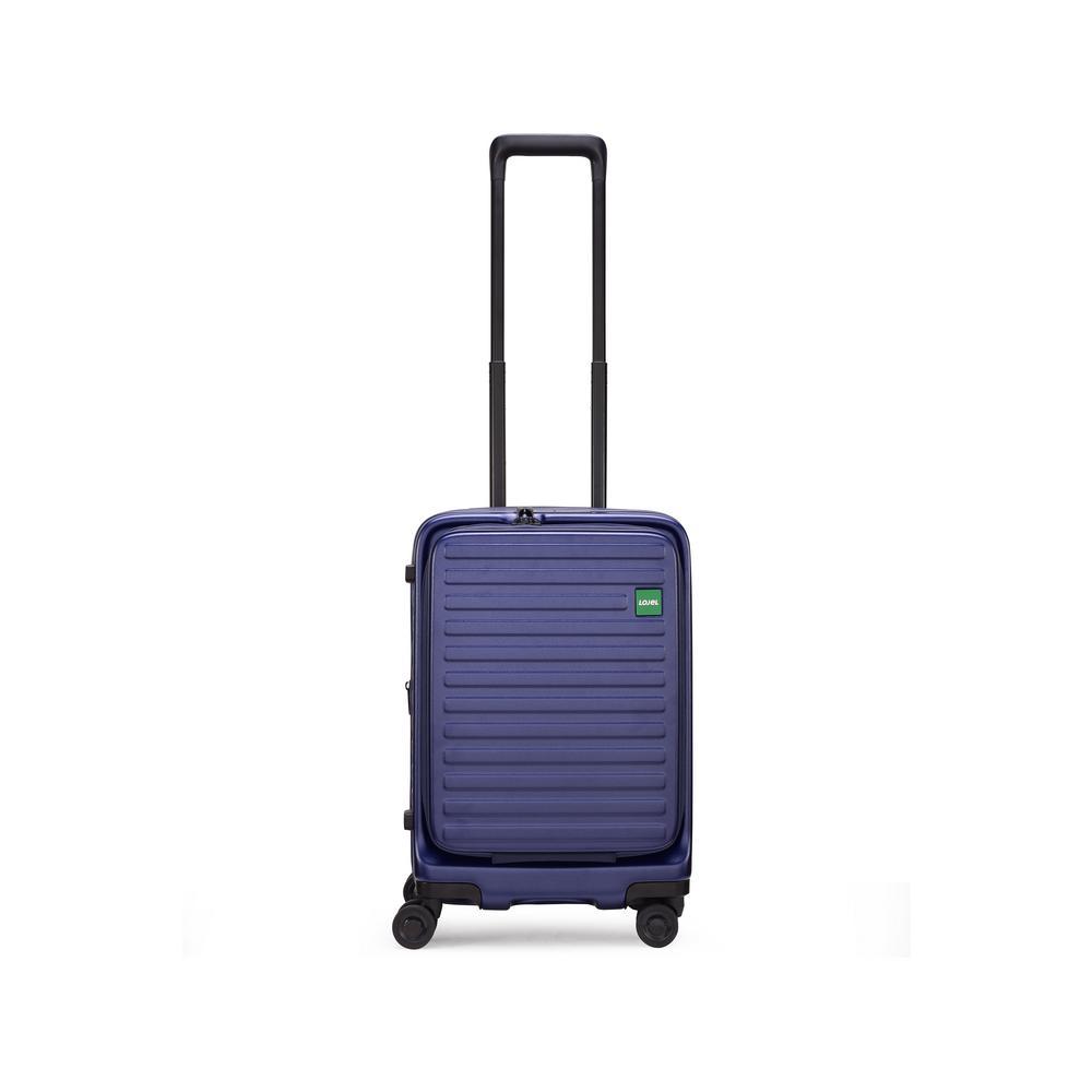 Cubo 21.3 in. Navy Blue Hardside Spinner Suitcase