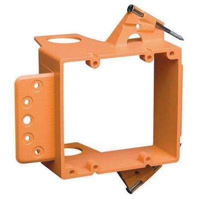 2-Gang Low-Voltage Bracket