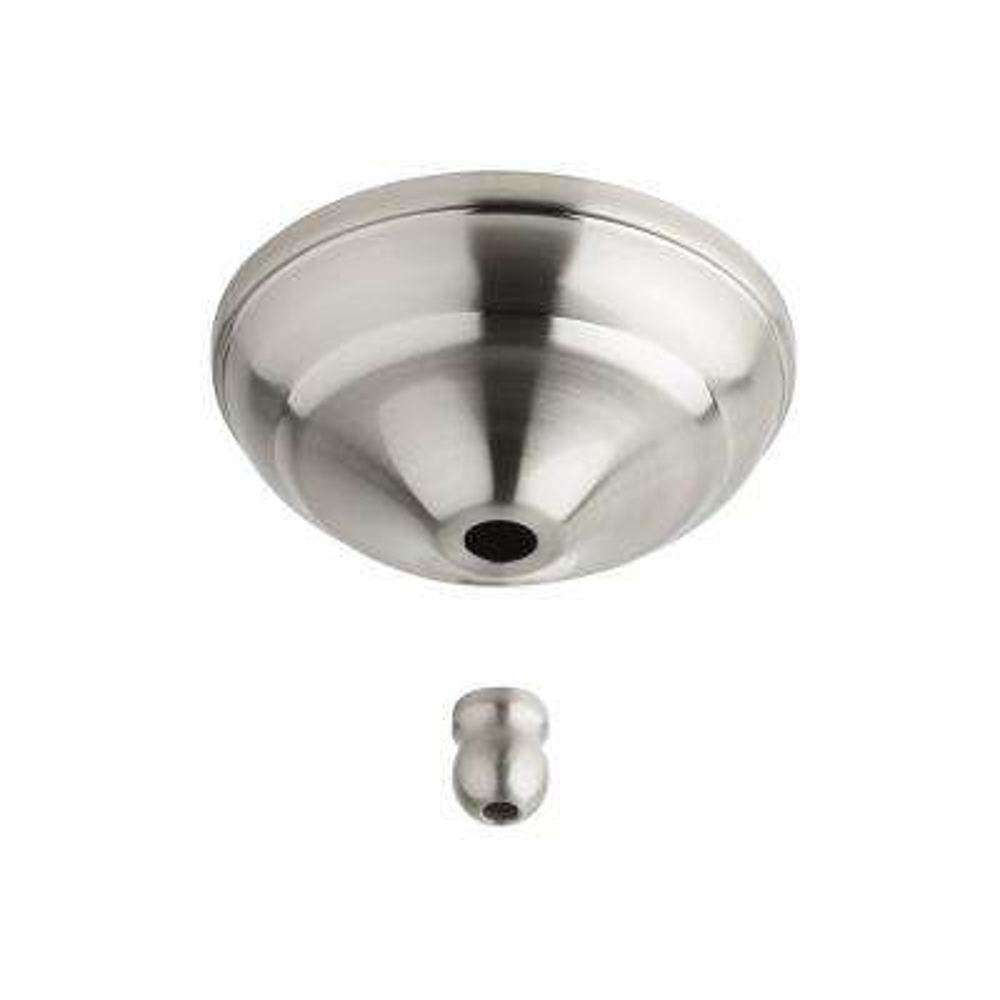 Brushed Steel Remote Control Bowl Cap