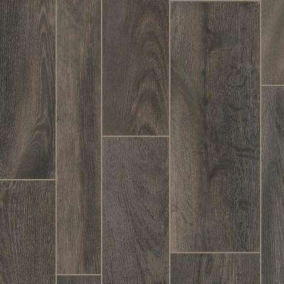 CushionStep Better with Diamond 10 Technology 12 ft. Width x Custom Length Oak Porter Residential Vinyl Sheet Flooring