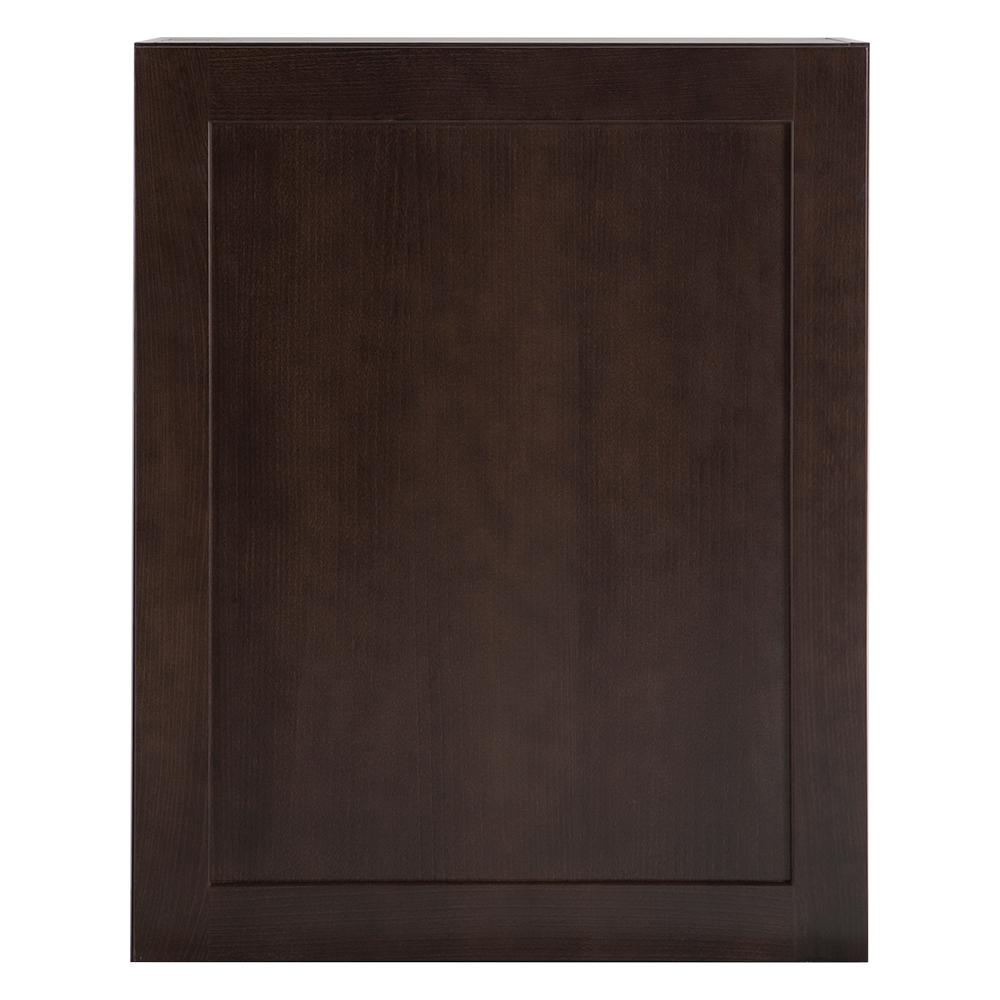 Wall Cabinet In Dusk: Hampton Bay Cambridge Assembled 24x30x12 In. Wall Cabinet