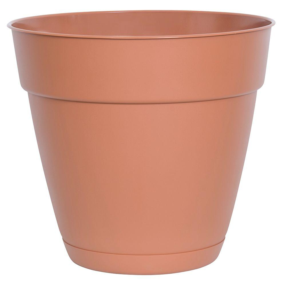 Dynamic Design Newbury 8 in. x 8 in. Light Terra Poly Planter