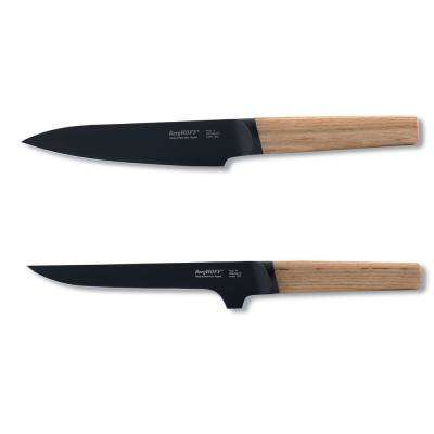 Ron 2-Piece Chef and Boning Knife Set in Natural