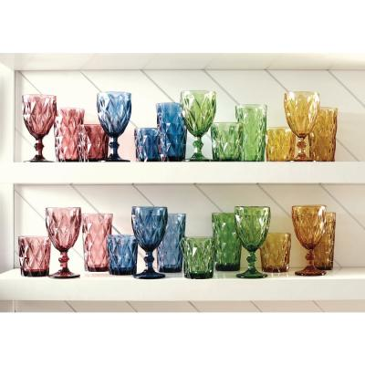 Assorted Color Hygate Goblet (Set of 4)