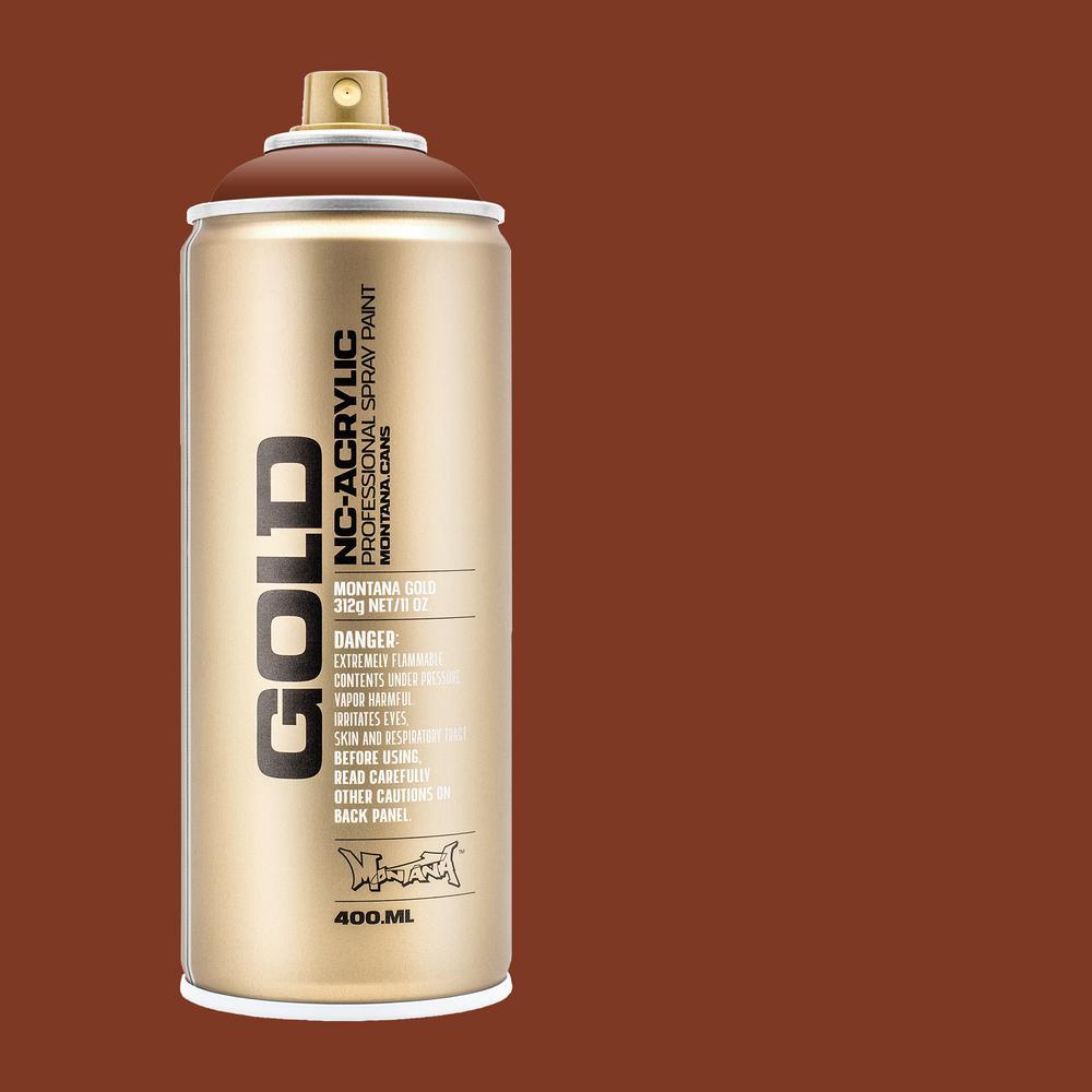 13 oz. GOLD Orange Brown Spray Paint