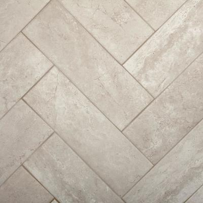 Northpointe Greystone 4 in. x 12 in. Ceramic Wall Tile (10.64 sq. ft. / case)