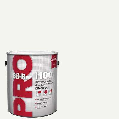 1 gal. i100 White Base Dead Flat Interior Paint