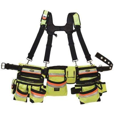 37 in. Hi-Visibility 3-Bag Framer's Rig