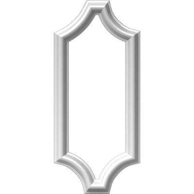 8 in. W x 20 in. H x 1/2 in. P Ashford Molded Scalloped Wainscot Wall Panel