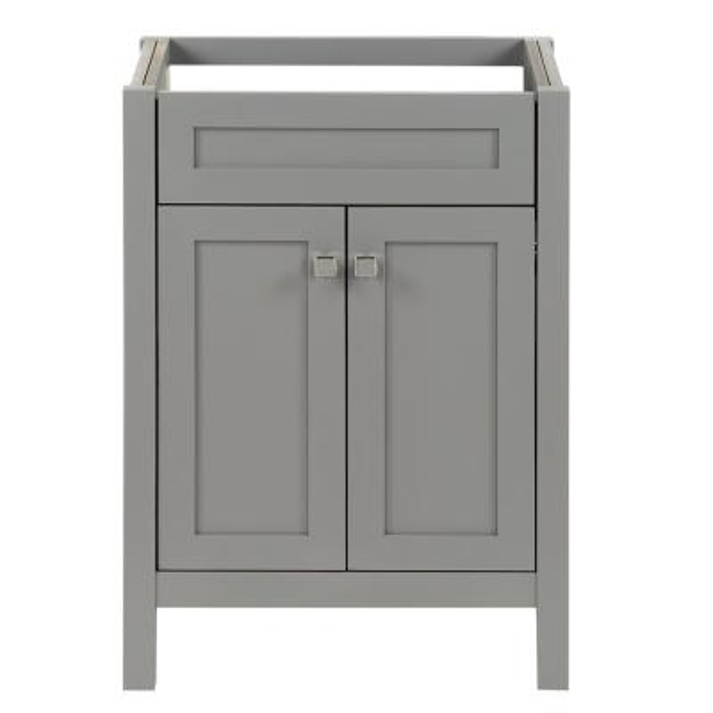 Maywell 24 in. W x 18.5 in. D x 34.4 in. H Bath Vanity Cabinet Only in Sterling Gray