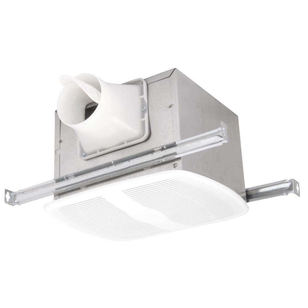 Through Wall Bathroom Exhaust Fans: Broan 70 CFM Through-the-Wall Exhaust Fan Ventilator-512M