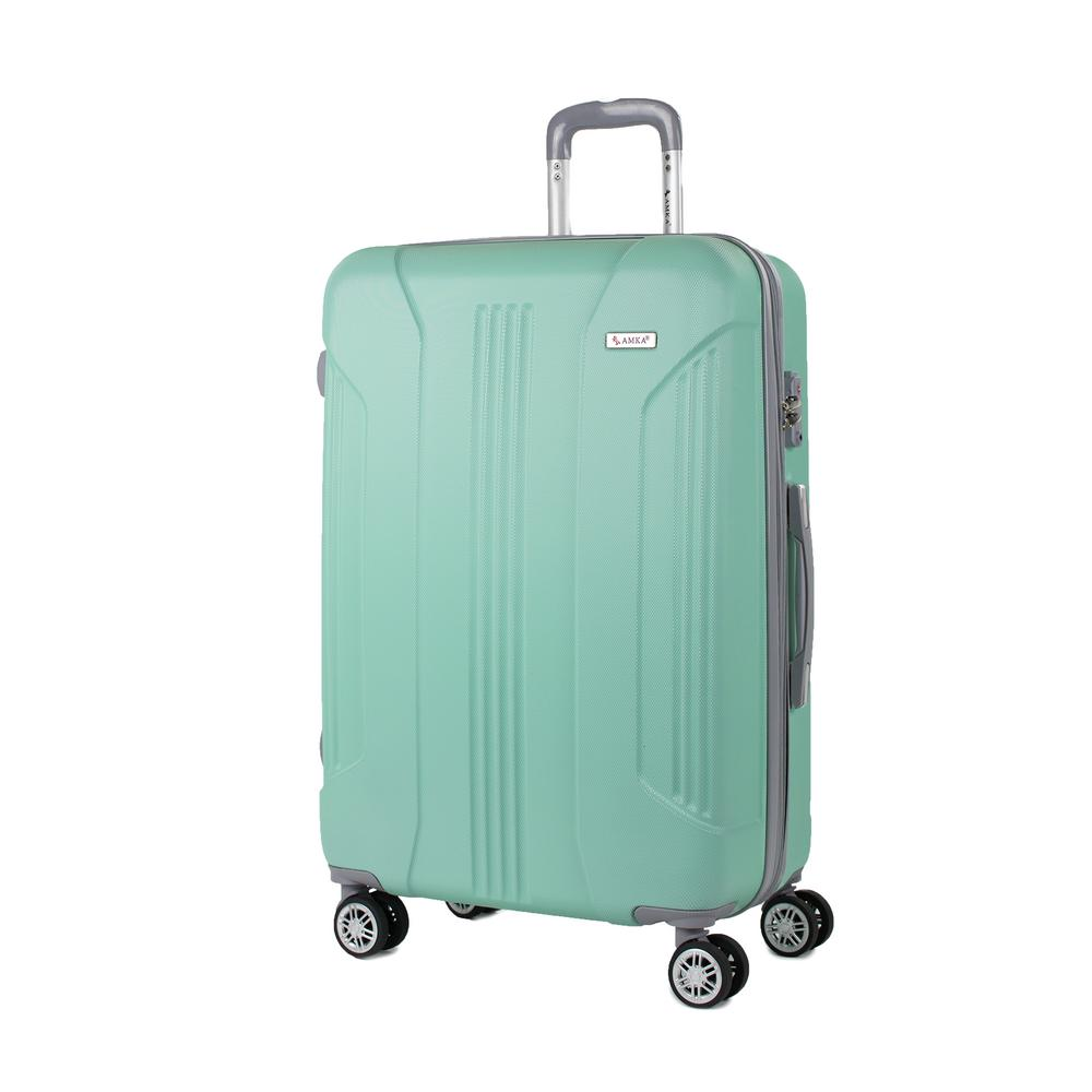 Sierra Mint 26 in. Expandable Hardside Spinner Luggage with TSA Lock