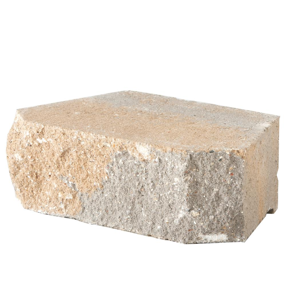 Pavestone 6.75 in. L x 11.63 in. W x 4 in. H Trinity Blend Retaining Wall Block (144 Pieces/ 46.6 Sq. ft./ Pallet)