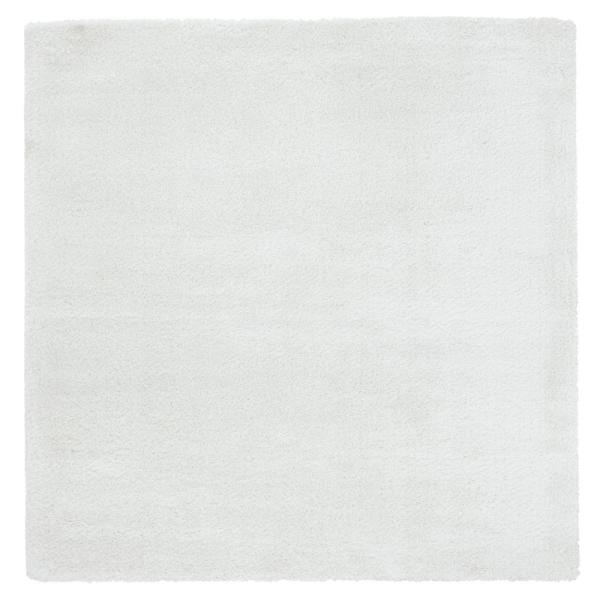 Ritz Easton White 6 ft. 6 in. x 6 ft. 6 in. Square Area Rug