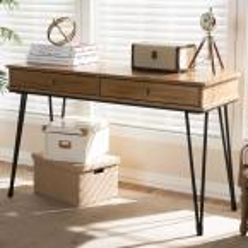 Toma Brown Desk