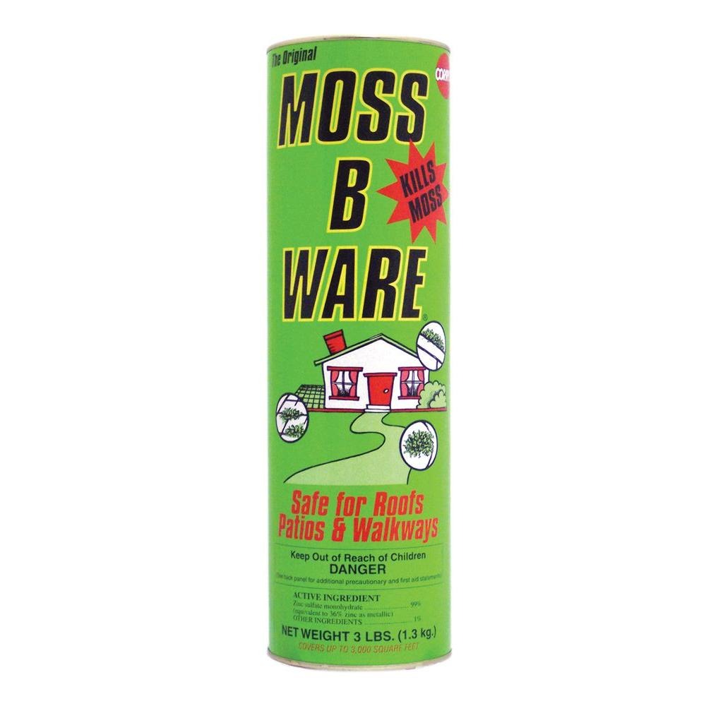 Corry's 3 lbs. Moss-B-Ware for Roofs and Walks Granules