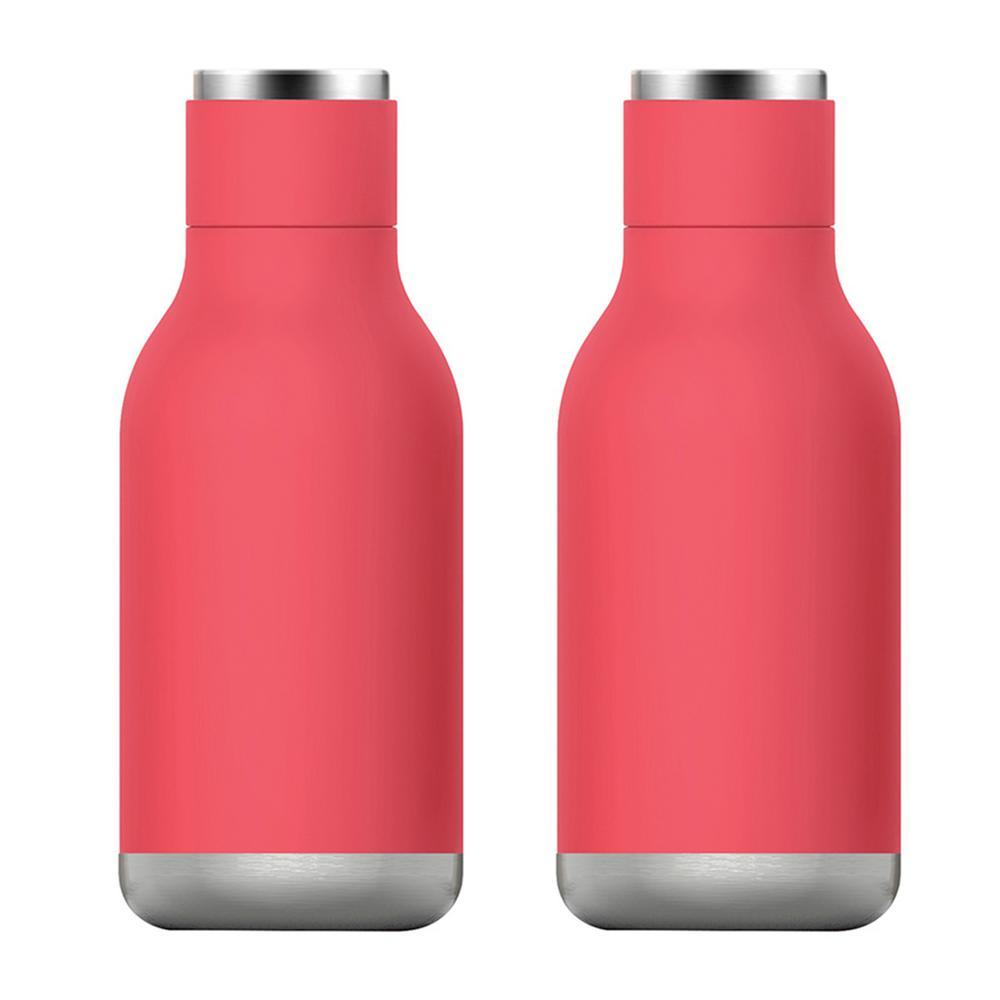 ASOBU 16 oz. Peach Urban Bottle (2-Pack)