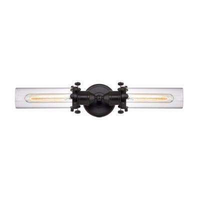 Fulton 2-Light Oil Rubbed Bronze Vanity Light