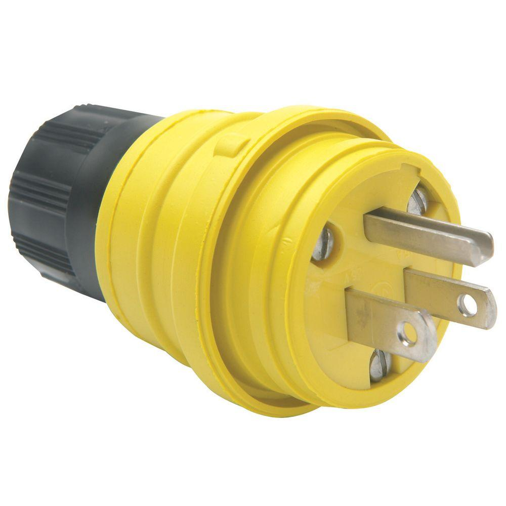 15 Amp 125-Volt with Watertight Plug