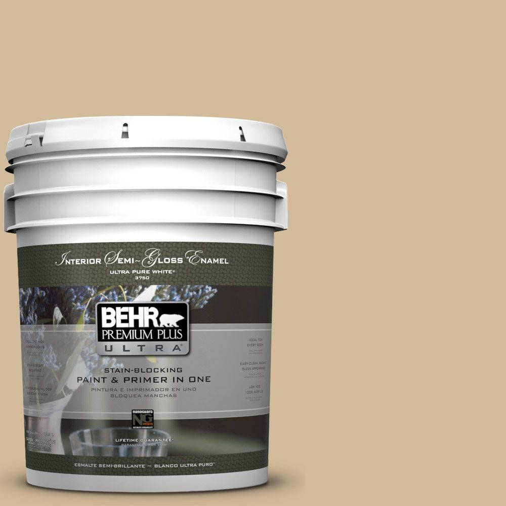 BEHR Premium Plus Ultra 5-gal. #N290-4 Curious Collection Semi-Gloss Enamel Interior Paint