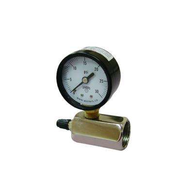 60 lb. Gas Test Gauge Assembly
