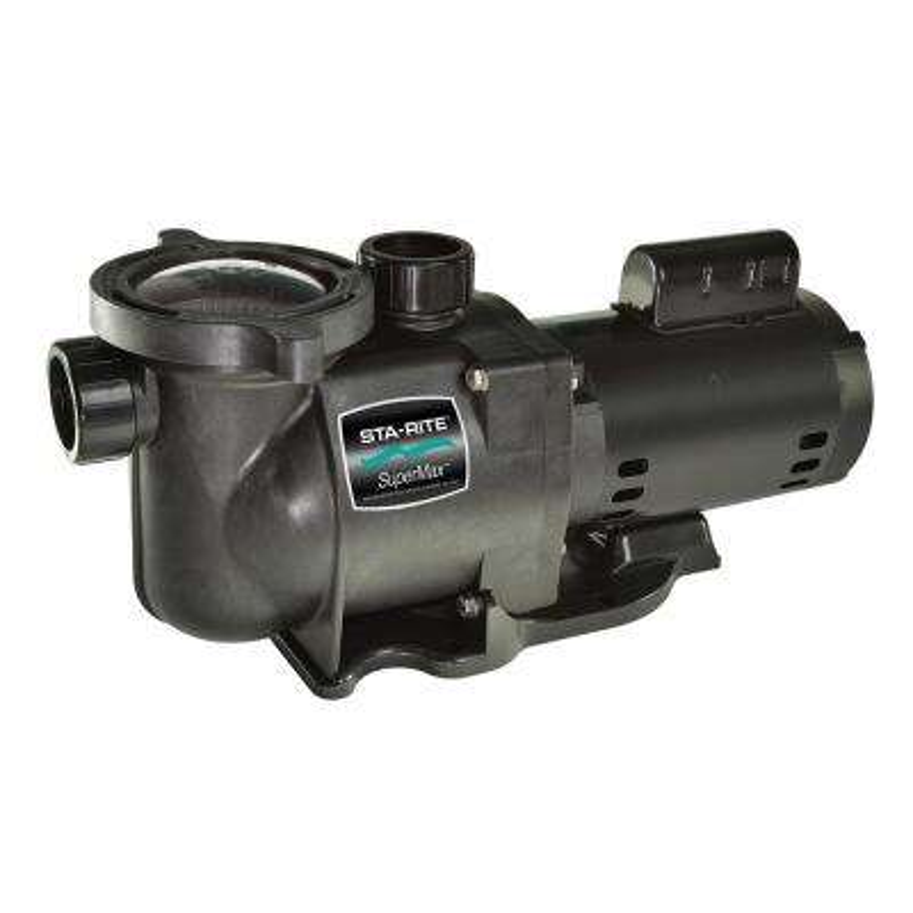 SuperMax HP Single Speed Pool Pump