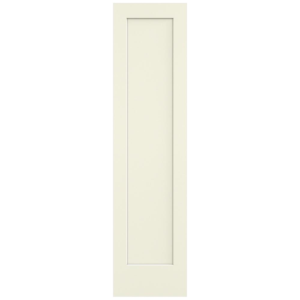 24 in. x 96 in. Madison Vanilla Painted Smooth Solid Core