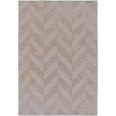 Central Park Carrie Gray 6 ft. x 9 ft. Indoor Area Rug