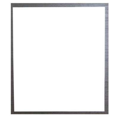 Reflection 31.50 in. W x 26.77 in. Framed Wall Mounted Vanity Bathroom Mirror in Wenge