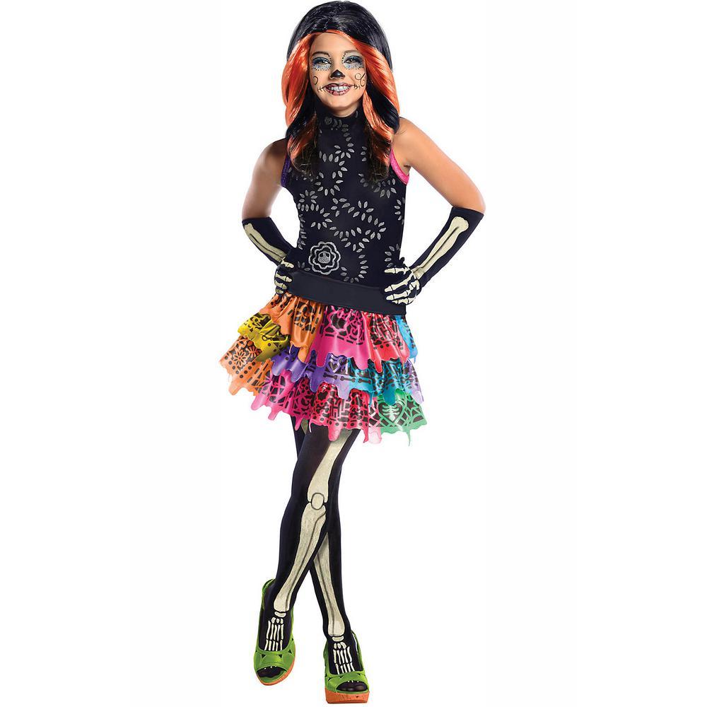 c4eadc96e Rubie's Costumes Girls Skelita Calaveras Monster High Costume ...