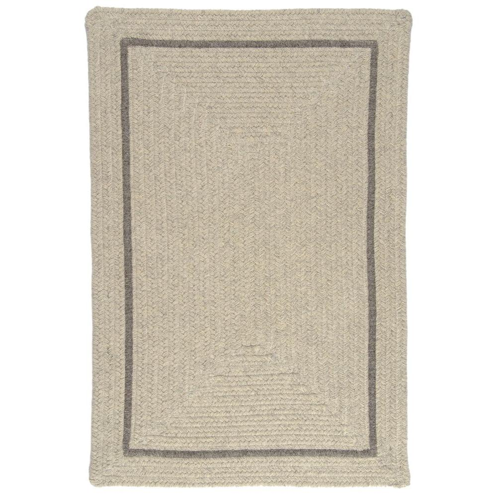 Home Decorators Collection Natural Light Grey 4 ft. x 6 f...