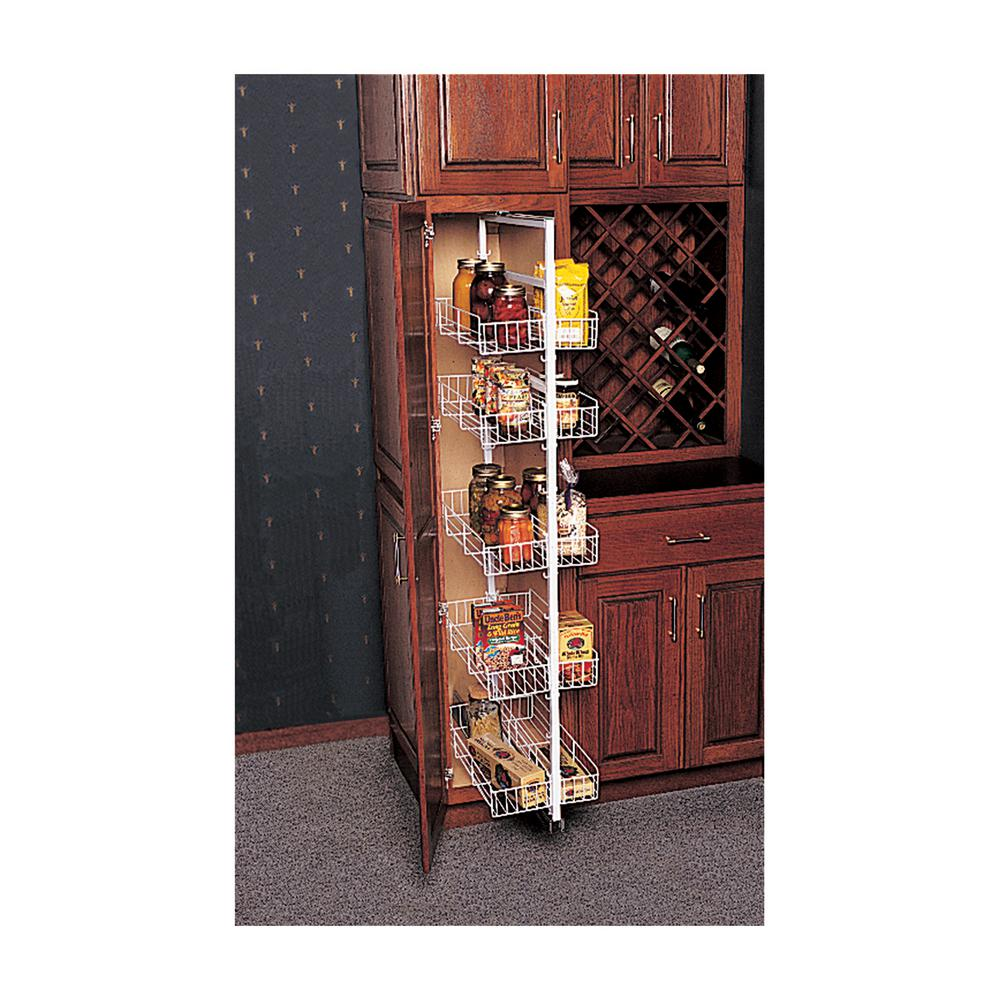 Knape & Vogt 49.38 in. x 3.81 in. x 22.25 in. Pantry Roll Out