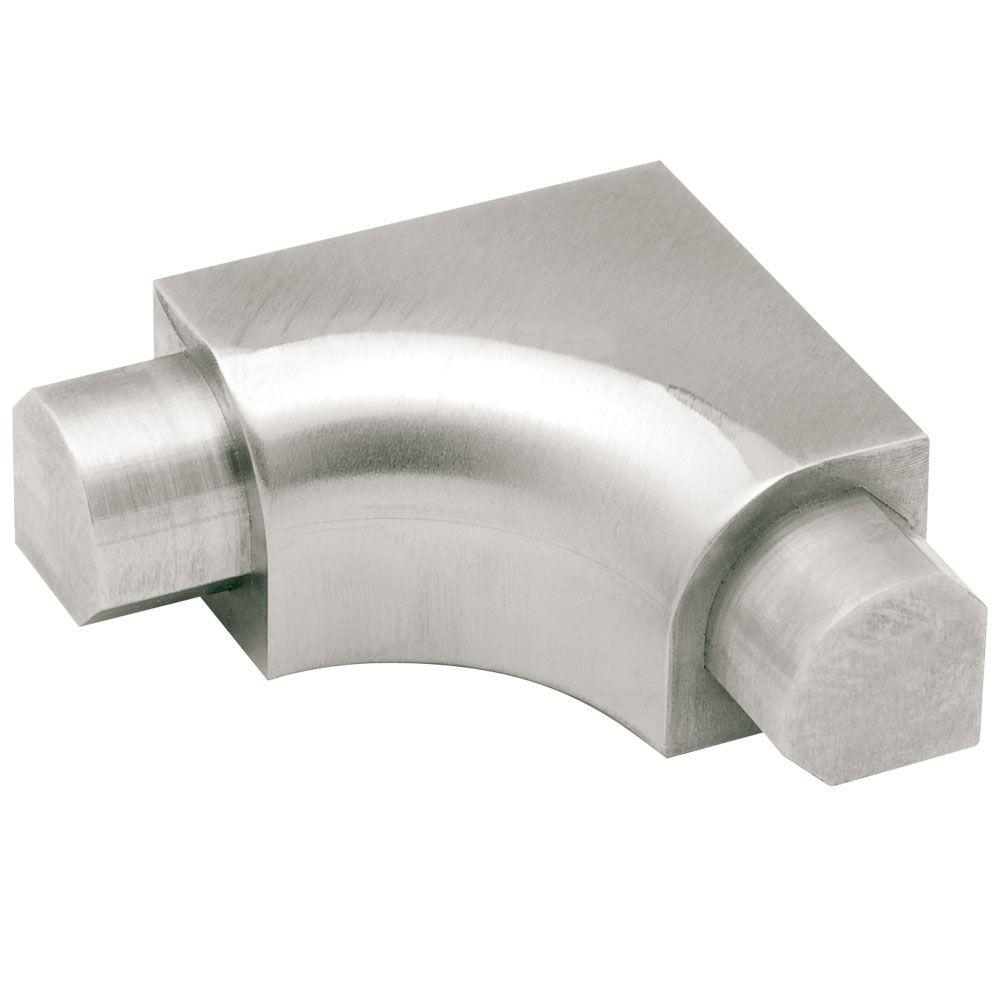 Rondec Brushed Stainless Steel 5/16 in. x 1-1/4 in. Metal 3/8