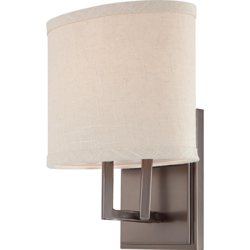 Maxwell 1-Light Hazel Bronze Sconce