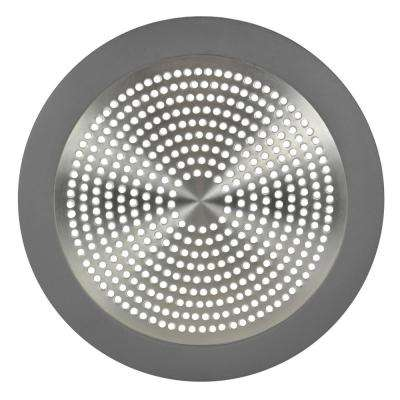 Shower Drain Strainer in Brushed Nickel