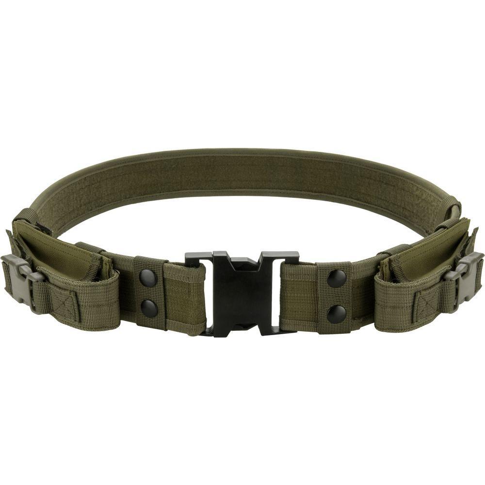 BARSKA Loaded Gear CX-600 Tactical Belt in Olive Drab in Green