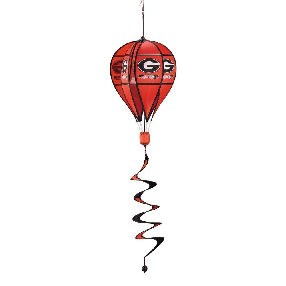NCAA Georgia Bulldogs Hot Air Balloon Spinner