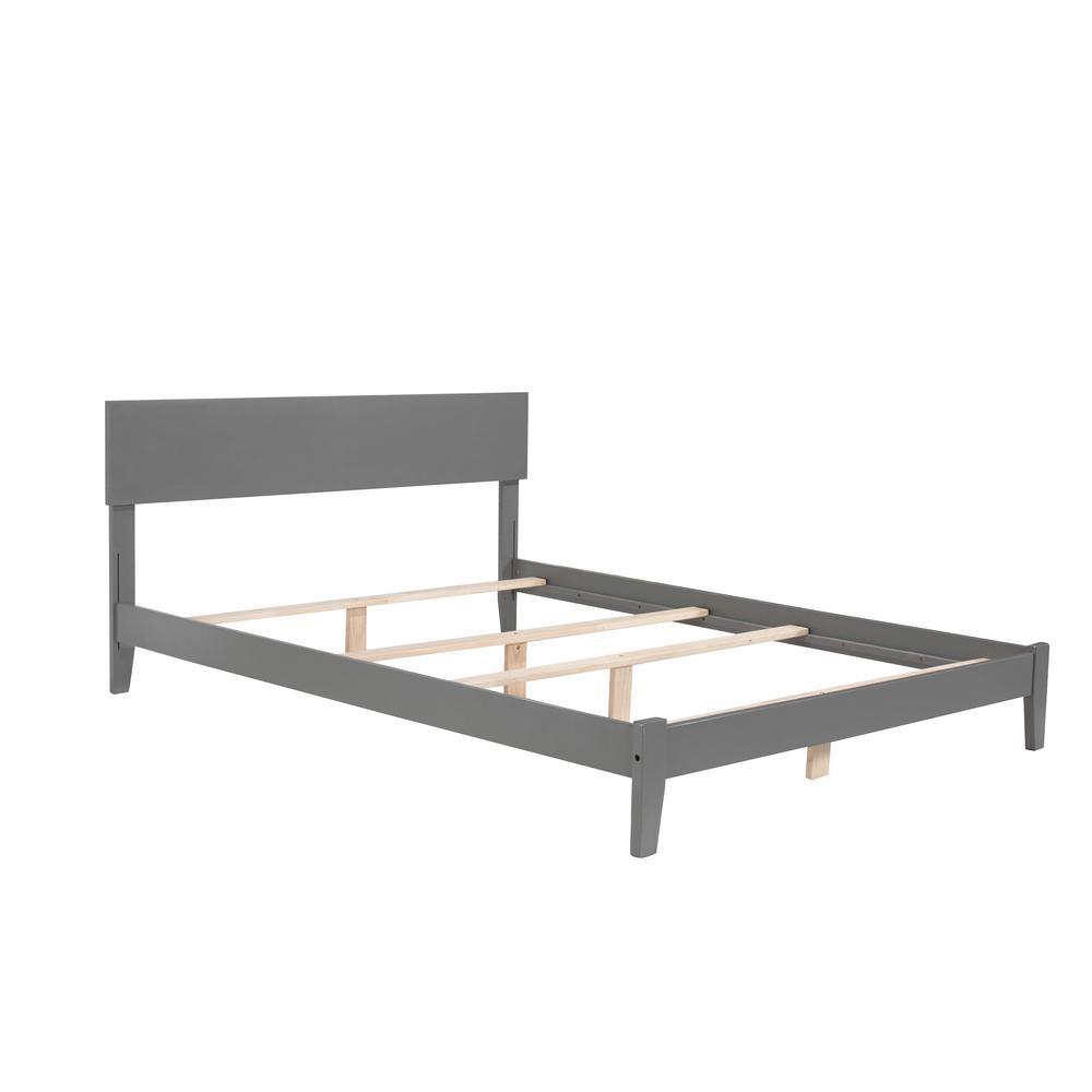 Atlantic Furniture Orlando Queen Traditional Bed In Grey Ar8141039