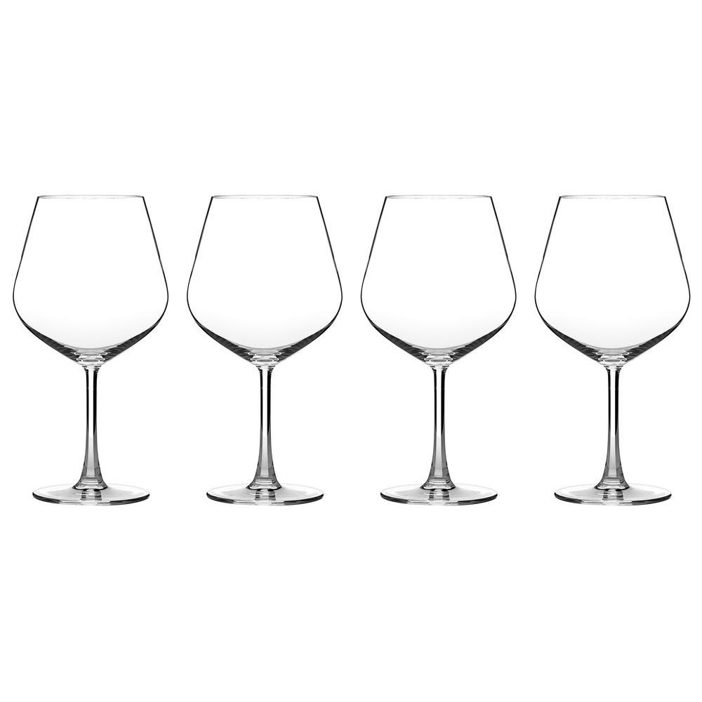 Advantage Glassware Essentials Collection Burgundy Glasses (Set of 4)