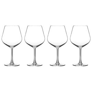 Cuisinart Advantage Glassware Essentials Collection Burgundy Glasses (Set of 4) by