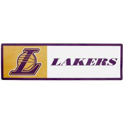 NBA Los Angeles Lakers Outdoor Step Graphic