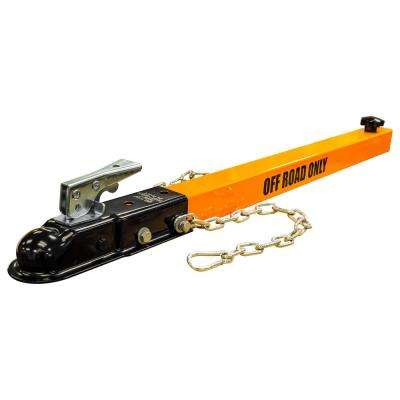 1-7/8in. Ball Adjustable Tow Bar for 2 in. Reciever